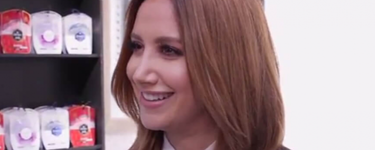 Ashley Tisdale is in love with Olay's new product DUO